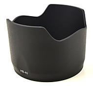 mengs® hb-40 parasol del objetivo forma de pétalos de nikon af-s 24-70 mm f / 2,8 g ed