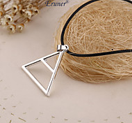 Eruner®Thirty 30 Seconds to Mars Necklace Triangle Triad Pendant Band Logo Vintage Jewelry