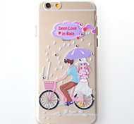 iphone 6 ragazza compatibile cover posteriore