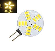 1 pcs G4 5W 15X SMD 5730 350LM 2800-3500/6000-6500K Warm White/Cool White Bi-pin Lights AC 12V