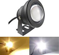 1 pièce 10 W 1 LED Haute Puissance 900 LM Blanc Chaud/Blanc Froid Pivotant Lumière Sous-marine AC 85-265 V