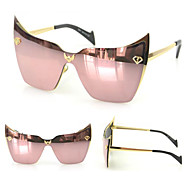 Sunglasses Women's Modern / Fashion Cat-eye Silver / Gold / Blue Sunglasses Full-Rim