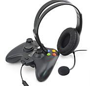 auriculares de juegos de chat con micrófono para Xbox 360