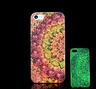 azteca resplandor patrón mandala en el caso duro para el iphone 5 oscuro / iphone 5 s