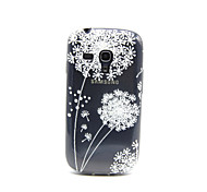 Dandelion Pattern TPU Soft Back Cover Case for Samsung S3 Mini I8190N