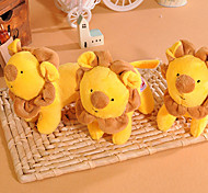 Plush Squeak Yellow Lionet Toy for Dogs Cats