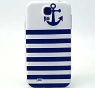 For Samsung Galaxy Case Pattern Case Back Cover Case Anchor TPU Samsung S4 Mini