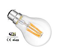 1 pezzo ONDENN B22 6 COB 600 LM Bianco caldo A60(A19) edison Vintage Lampadine LED a incandescenza AC 220-240 / AC 110-130 V