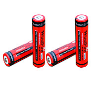 Windfire 4000mAh 3.7V 18650 Rechargeable Lithium Ion Battery (4pcs)