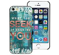 Seek You Design PC Hard Case for iPhone I4