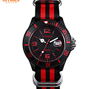 InTimes IT-057N Watches Men Original Brand 50M Water Proof Japan Quartz Movt Nylon band