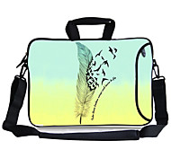 "Elonbo Dream Plume Carrying Handle & Removable Shoulder Strap Laptop Bag for 13"" Macboob pro HP"
