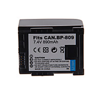 890mAh Camera Battery Pack for CANON BP-809+