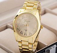 Women's Watch Fashion Quartz Wristwatch Alloy Band Material
