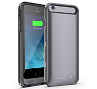 iFans ® MFI 3100mAh IPhone 6 Battery Case External Removable Backup Power Charger Case for iPhone 6 (Assorted Colors)