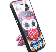 The Latest Model Samsung Galaxy S6 Silicone Phone Shell Owl
