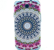 The Pink Flower Pattern TPU Soft Case for S3 I9300