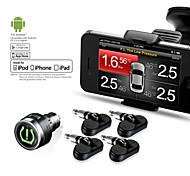 TPMS-85 professionisti Steelmate pneumatici sistema di monitoraggio della pressione per iPhone e Android smartphone