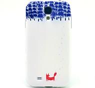 le motif de renard TPU couverture souple pour les Samsung Galaxy S i9500