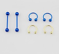 Labret, Lip Piercing Jewelry/Piercing lingua - Quotidiano - di Acciaio inossidabile