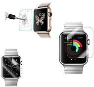 2 PCS HD Screen Protector with Anti-Bubble & Anti-Fingerprint for Apple Watch (0.3 mm)