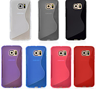 Angibabe S Style TPU Clear Case For Galaxy Samsung Galaxy S6 Edge