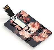 64GB Keep Calm and Be Yourself Design Card USB Flash Drive