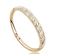 Casual Gold Plated / Cubic Zirconia Cuff Bracelet Christmas Gifts