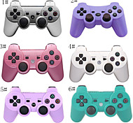 Lively Colorful Wireless Dual Shock for Playstation 3 with Six Axies Bluetooth Controller- Generetic/3RD Party