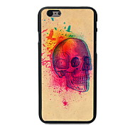 Skull with Birds Design PC Hard Case for iPhone 6