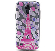 For Samsung Galaxy Case Pattern Case Back Cover Case Eiffel Tower TPU Samsung S4 Mini