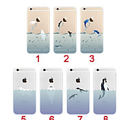 Ocean Animals Ultra-thin TPU Soft Back Case Cover for iPhone 5/5S(Assorted Colors)