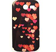 Herzlmalerei tpu Fall für Samsung-Galaxie-Tasche 2 G110