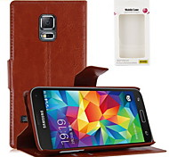 Kemile Luxury Flip Leather tand Wallet Credit Card Bag Holder Cover For amung Galaxy 5 Mini