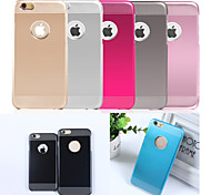 Ultrathin Metal And PC 2 in 1 Design Back Cover Case for iPhone 6s 6 Plus