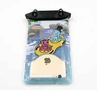 Universal 6 Inch Cartoon PVC Waterproof Phone Case 10 Meters Underwater Phone Bag Pouch Dry No.026 (All Models)