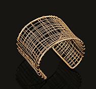 Fashion Metal Cuff Bracelet(Gold,Silver)