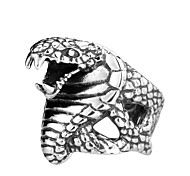 Beier®Super Fashion Stainlesss Steel Personality Jewelry Punk Unique Snake Ring