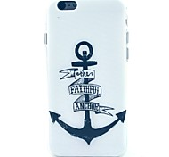 The Black Ship Pattern TPU Soft Case for iPhone 5C
