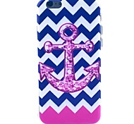 Pink Anchors Pattern TPU Material Phone Case for iPhone 5C