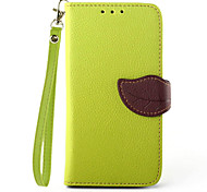 PU Wallet Leather Flip Phone Case for Samsung Galaxy S6