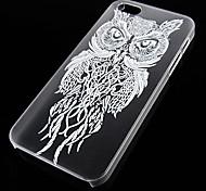motif oiseau de nuit fond transparent pour iPhone5 / 5s