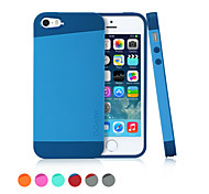 GGMM® TPU and PC Case with Multi-color for iPhone 5/5s