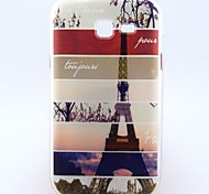 For Samsung Galaxy Case Pattern Case Back Cover Case Eiffel Tower TPU Samsung Trend Lite