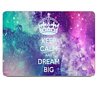 "Case for Macbook Air 11.6""/13.3"" Starry Plastic Material Keep Calm And Dream Big Design Full-Body Protective Plastic Case"