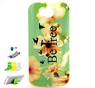 Small Yellow Flowers Pattern TPU Material Protective Shell for Wiko IGGY