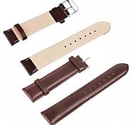 cuir de haute qualité couleur unie bande de iwatch