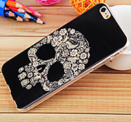Skull Painting TPU Falling Proof Case for iPhone6