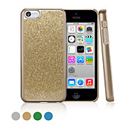 GGMM® Sparkle PC and Glitter Powder Hard Case for Iphone5C with free screen protector film