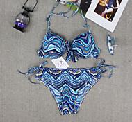 Bikinis/Dos Piezas ( Como en la foto ) - Transpirable/Resistente a los UV/Listo para vestir - para Mujer